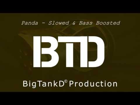 Desiigner - Panda (Slowed & Bass Boosted)
