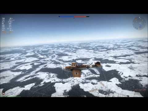 How to fly it #Bf109-g2/trop (dem trees)