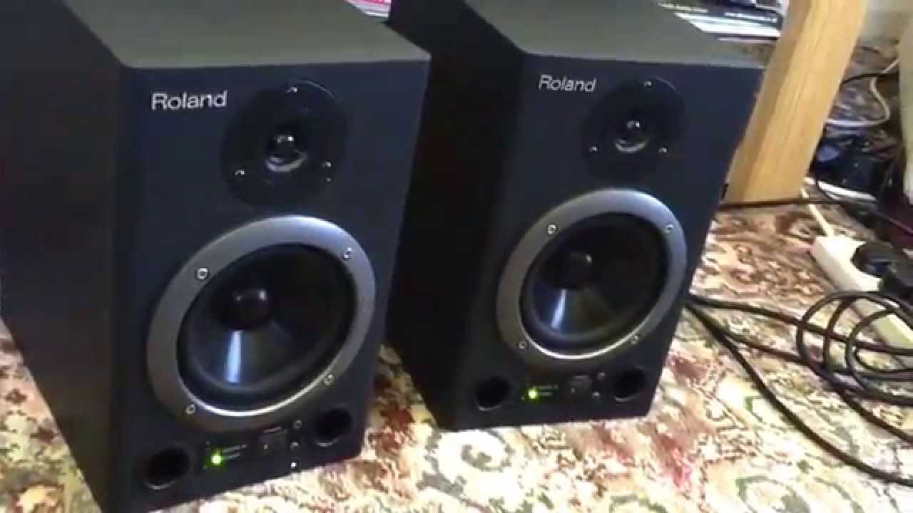 Ongekend Roland speakers for sale. Great condition! - YouTube ZF-66