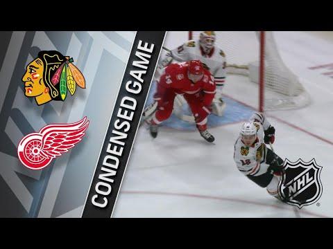 01/25/18 Condensed Game: Blackhawks @ Red Wings