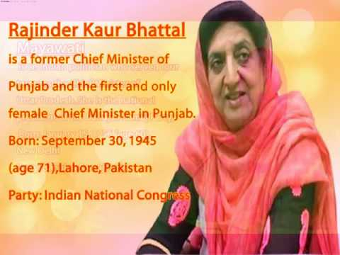 female chief ministers