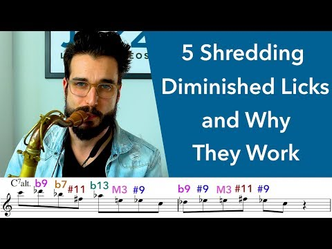 5 Shredding Diminished Licks and Why They Work