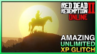 UNLIMITED XP! Red Dead Redemption 2 Online Glitch! Red Dead Online XP Glitch! RDR2 Online XP Glitch!