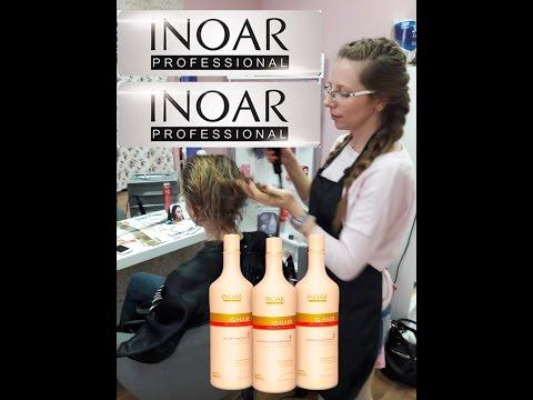 Кератиновое выпрямление и восстановление волос Inoar