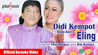 Didi Kempot Ft. Diana Sastra - Eling (Official Karaoke Video)