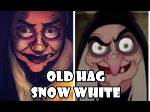 Old Hag From Snow White Makeup Tutorial Antonia Berggren