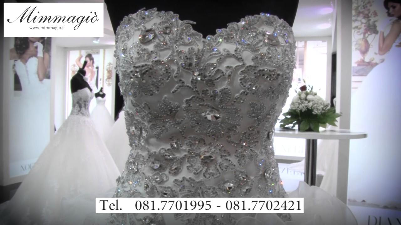 8e6764585ddf Collezione alta moda sposa Mimmagio - YouTube
