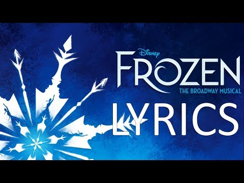 LYRICS - Monster - FROZEN ORIGINAL BROADWAY CAST RECORDING