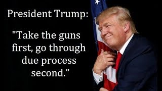"President Trump: ""Take The Guns First, Go Through Due Process Second."""