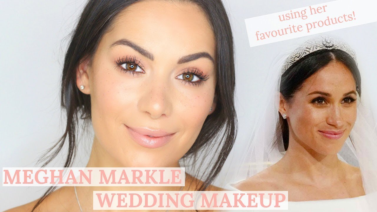 meghan markle royal wedding makeup tutorial beauty s big sister youtube meghan markle royal wedding makeup tutorial beauty s big sister