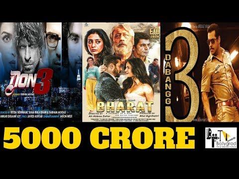 Bollywood Updates | Bharat | Don 3 | Dabangg 3 | Salman Khan |Shahrukh Khan|  Katrina Kaif