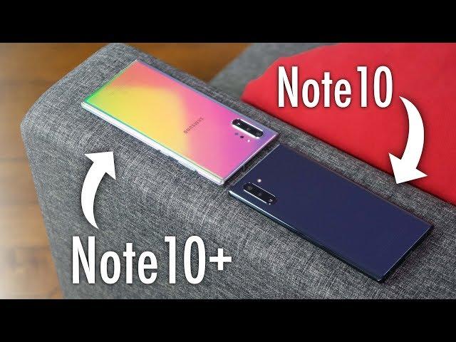 Les Samsung Galaxy Note 10 sont arrivés !