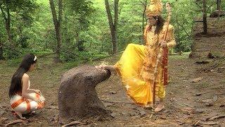 पैर से स्पर्श कर श्री राम ने किया अहिल्या को श्राप मुक्त - अहिल्या की कहानी - Jai Shree Ram