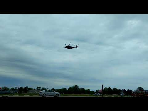 Navy Helicopters Leaving
