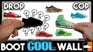 How Good Is Your Boot? Cop or Drop Cleat Wall!