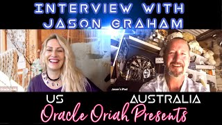 Oracle Oriah Presents~Interview with Jason Graham as I surprised him with news