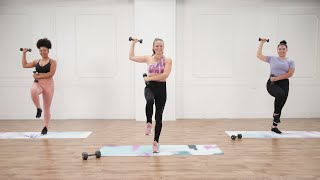 30-Minute Arms and Abs Workout With Anna Renderer