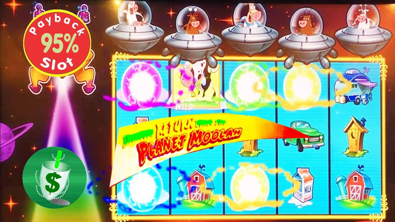 Invaders Return From The Planet Moolah Slot Machine