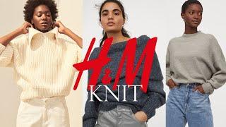 H&M 겨울 니트 하울 | 직장인 니트 추천 |…