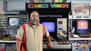 Colecovision Store Display! Trade-N-Games Kiosk Collection
