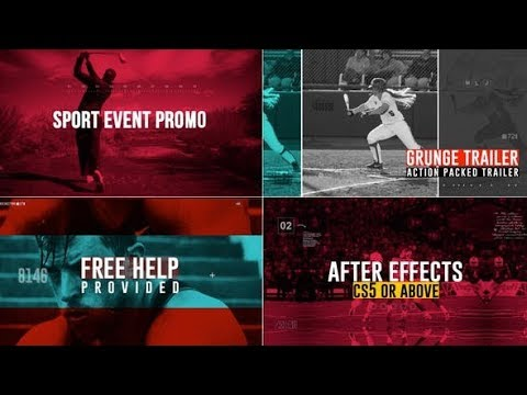 Sport Event Promo - After Effects template - 동영상