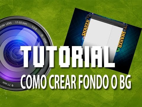 Como crear Fondo o Background para tu C + Plantilla C