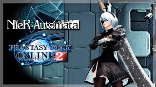 Phantasy Star Online 2 | NieR AC Scratches, RNG, Previewing Costumes & Accessories