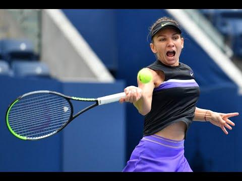 Simona Halep Vs. Nicole Gibbs   US Open 2019 R1 Highlights