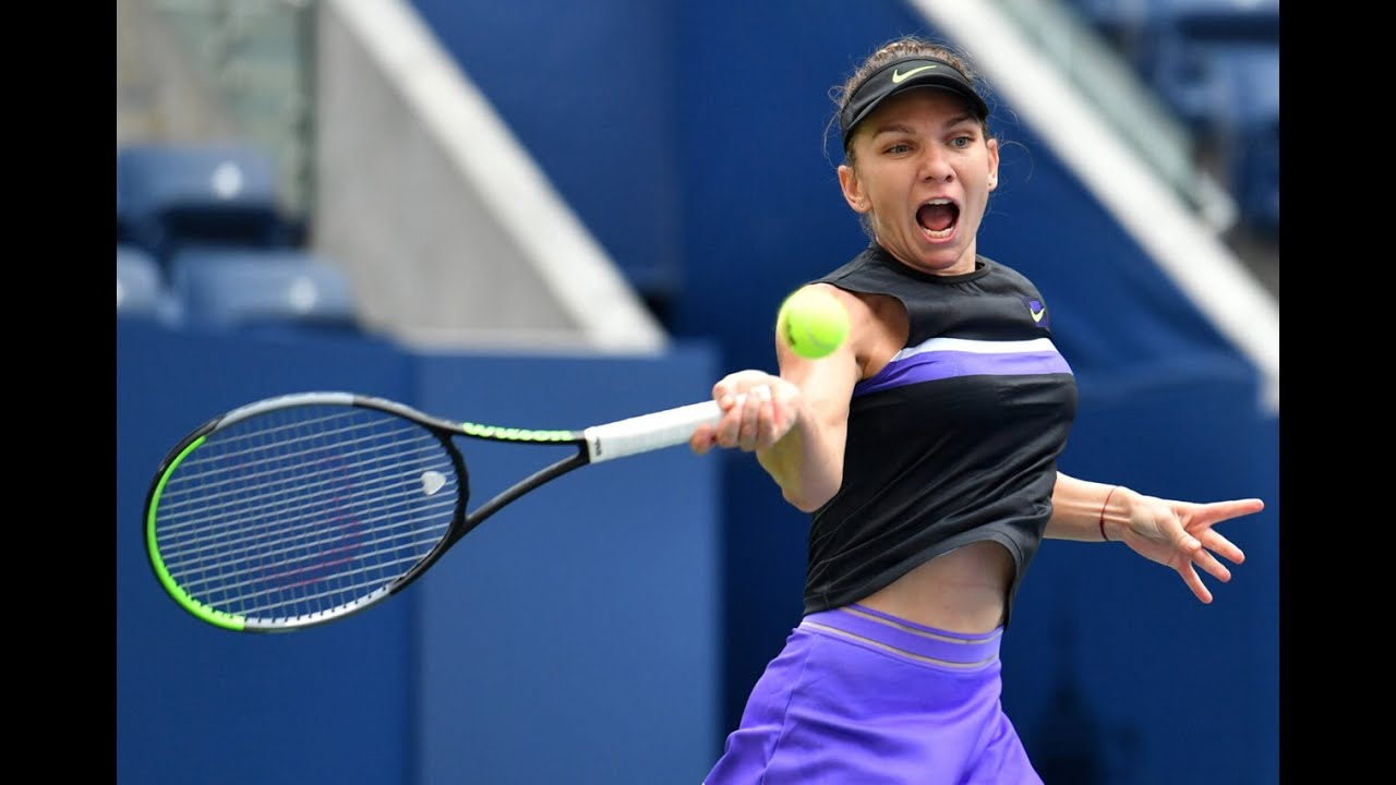 Simona Halep vs. Nicole Gibbs | US Open