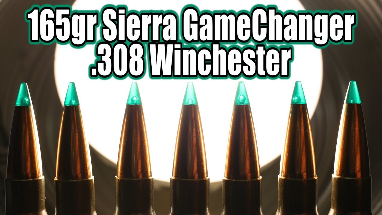 Sierra GameChanger 165gr in 308 Winchester - YouTube