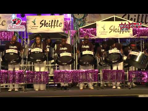 Hello - Caribbean Airlines Skiffle Steel Orchestra - Panorama 2018 Finals HD