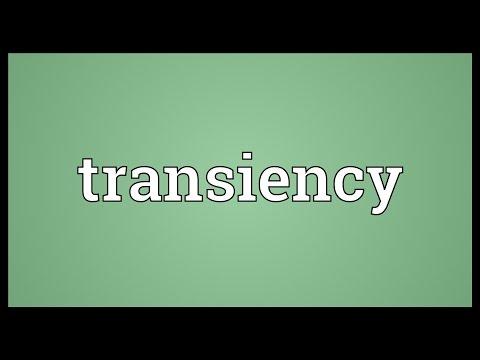 Transiency Meaning