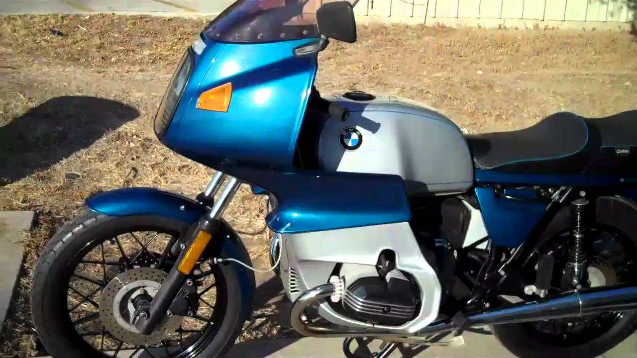 1983 bmw r100rs youtube. Black Bedroom Furniture Sets. Home Design Ideas