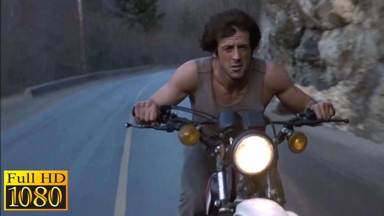Rambo 1 Elicottero : Rambo first blood chasing scene p full hd