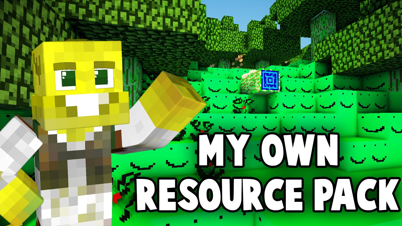 How to Make Your Own Resource Pack!