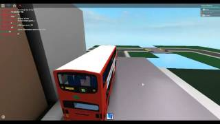 Roblox Showing a Enviro 200 Dual Door stagecoach (Bus Logo) and Gemini 1 Tower Transit