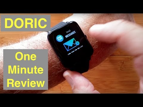 colmi-doric-health-fitness-ip67-waterproof-blood-pressure-smartwatch:-one-minute-overview