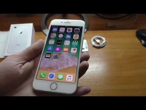 Распаковка смартфона Apple Iphone 8 64 Gb