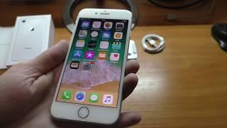 Розпакування смартфона Apple Iphone 8 64 gb