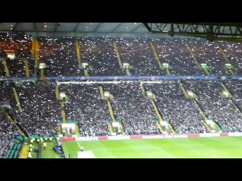 """The """"67"""" song, chanted as one by Parkhead vs. PSG (12/09/2017)"""