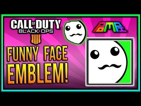 EASY FUNNY FACE EMBLEM: COD BO4 Funny Face Emblem Tutorial