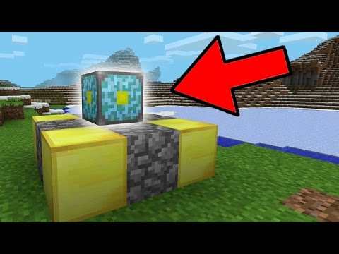 Do NOT Touch this Block in Minecraft Pocket Edition!!!