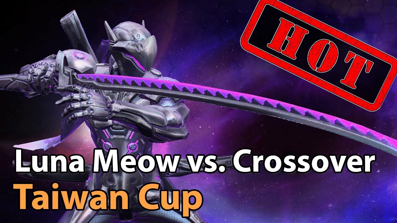► Taiwan Tournament - Luna Meow vs. Crossover - Heroes of the Storm Esports