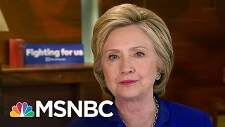 Rachel To Hillary Clinton: 'What Took So Long' For First Female Nominee? | Rachel Maddow | MSNBC