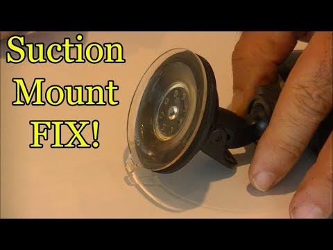 Dashcam Suction Mount Fix