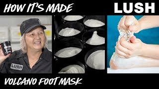 Lush How It's Made: Volcano Foot Mask (2018)