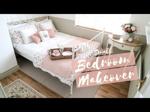 small-bedroom-makeover,-ikea-leirvik,-cottage-style-decor