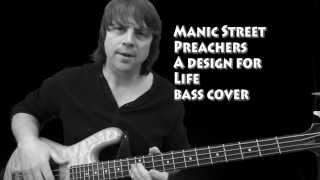 """A Design for Life"" Bass Lesson Cover Paul Wesley Lewis"
