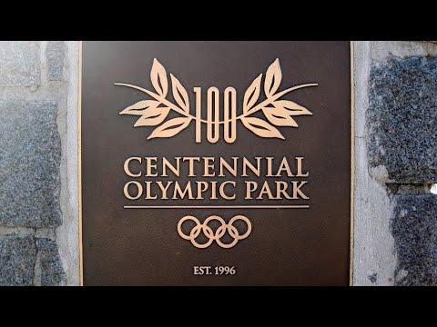 Centennial Olympic Park, Atlanta, Georgia, United States, North America