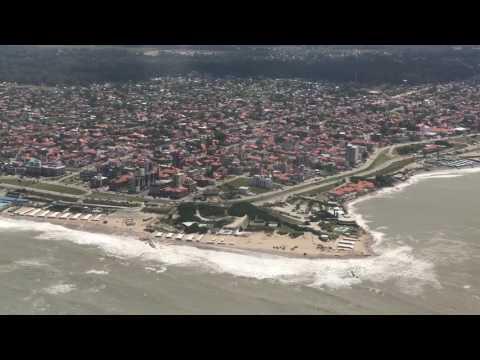 Mar del Plata desde un avión